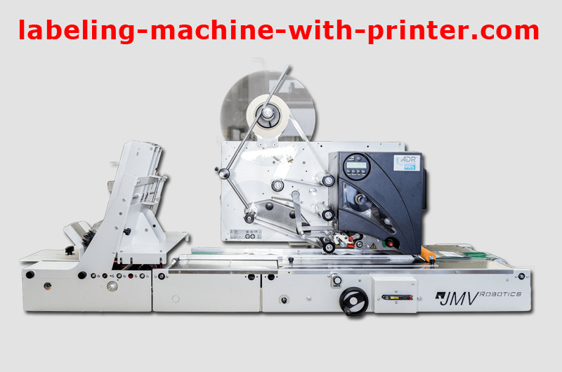 labeling machine with printer